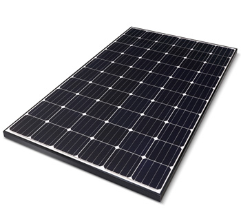 LG 295W Mono X Plus Solar Panel Sunrise Power Solutions